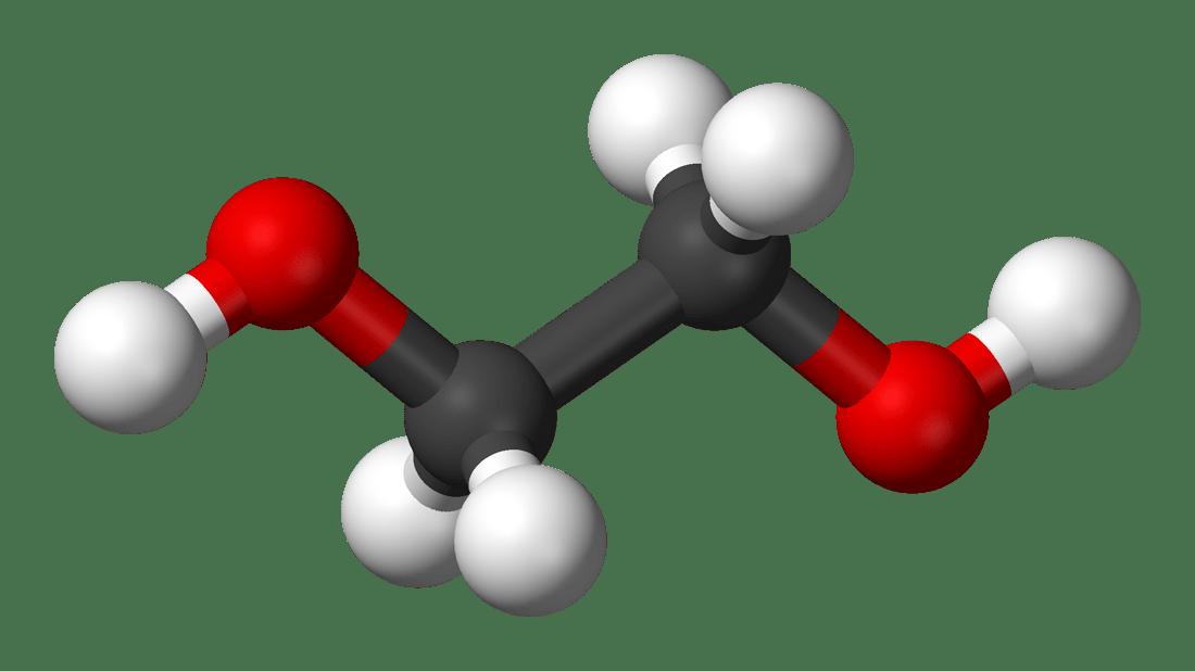 Molecola di Gligole Etilenico