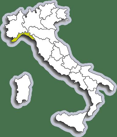 Mappa Liguria