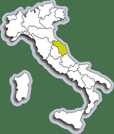 Mappa Marche
