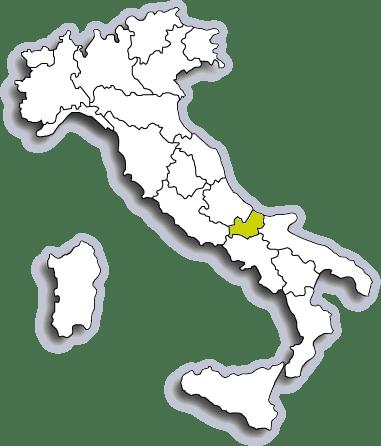 Mappa Molise