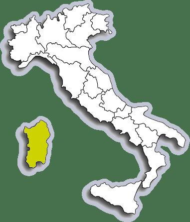 Mappa Sardegna